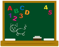 School Chalkboard Royalty Free Stock Images