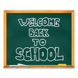 School Chalkboard Stock Images