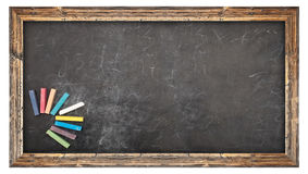 School chalkboard Royalty Free Stock Image