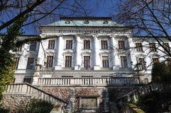 School of Chemistry in Banska Stock Photo