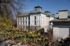 School of Chemistry in Banska Stiavnica, Slovakia Royalty Free Stock Photography