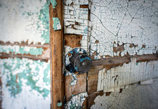 School in Chernobyl Zone Stock Photo