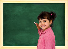 School child and board Stock Images