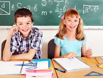 Free School Child With Teacher. Stock Photography - 27569142