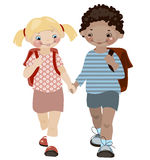 School childhood. Stock Images
