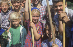 School children Royalty Free Stock Photography