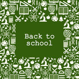 School children background with place for text Royalty Free Stock Image