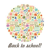 School children background with place for text Royalty Free Stock Images
