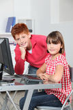 School children in class Royalty Free Stock Photo