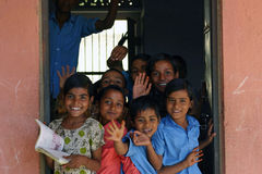 School children stock images