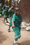 School children in Jamestown, Accra, Ghana Royalty Free Stock Image