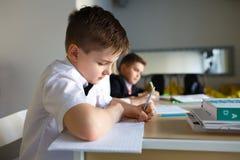 School. children learn in school. training students Stock Images