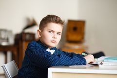 School. children learn in school. training students Stock Photography