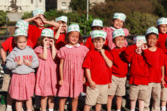School Children from New Orleans Stock Images
