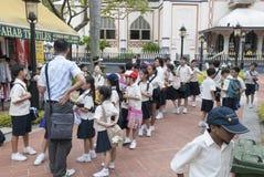 School children singapore Stock Image