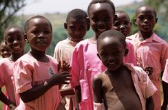 School children in Uganda. Stock Photography