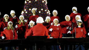 School Choir at the Ellipse