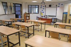 School Classroom Stock Photo