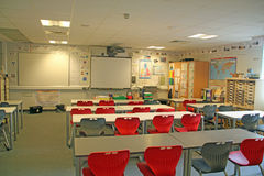 School Classroom Royalty Free Stock Image