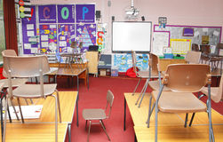 School classroom Stock Photography