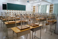 School classrooms Stock Photo