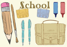 School clipart Stock Photos