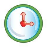 School Clock icon vector illustration