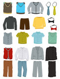 School clothes for boys Stock Images