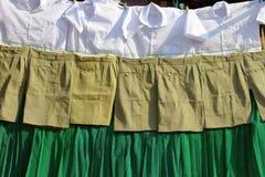 School clothing Stock Image