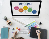 School College Education Intelligence Concept. Totoring Lesson Study Knowledge Concept Royalty Free Stock Images