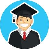 School-College Graduation - Boy Stock Photo