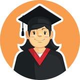 School-College Graduation - Girl Stock Image