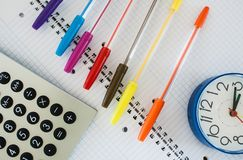 School composition Royalty Free Stock Images