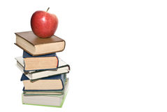 School concept. Apple and book Royalty Free Stock Image
