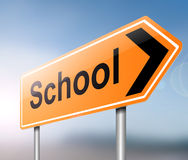 School concept. Royalty Free Stock Image