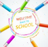 School Concept. Vector Royalty Free Stock Images
