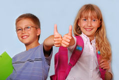 School is cool Stock Images