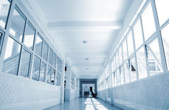 School corridor Royalty Free Stock Photos
