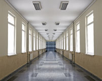 School corridor Royalty Free Stock Photography
