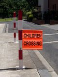 School crossing Stock Photography