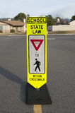 School crosswalk safety 2 Royalty Free Stock Image