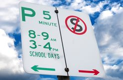 School day sign Royalty Free Stock Photography