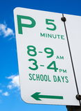 School day sign Royalty Free Stock Image