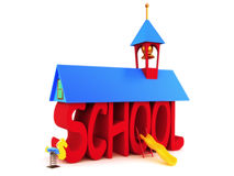 School days Royalty Free Stock Photography