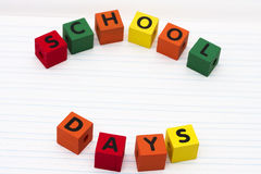 School Days Stock Photography