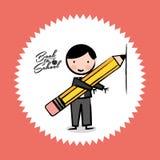 School design. School graphic design , vector illustration Royalty Free Stock Images