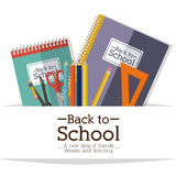 School design Royalty Free Stock Photography
