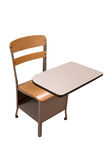 School desk Royalty Free Stock Photo