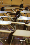 School desk chair Stock Photo