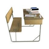School Desk Stock Images
